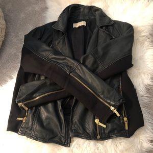 MICHAEL Michael Kors real leather jacket